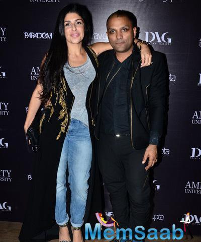 Anaita Shroff Adajania Posed With Gaurav Gupta At Gaurav Gupta Store Launch