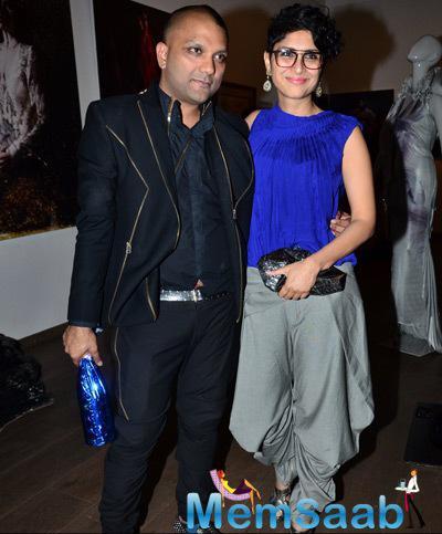 Gaurav Gupta Posed With Kiran Rao During The Launch Of Gaurav Gupta Store