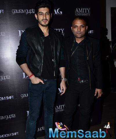 Mohit Marwah And Designer Gaurav Gupta Posed At Gaurav Gupta Store Launch
