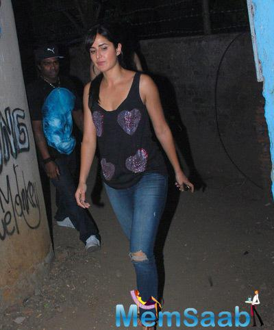 Katrina Kaif Arrived Bosco Martis Birthday Bash