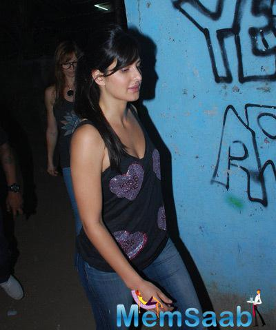 Katrina Kaif Cool Simple Look During Bosco Martis Birthday Bash