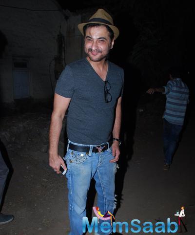 Sanjay Kapoor Cool Stylish Look During Bosco Martis Birthday Bash