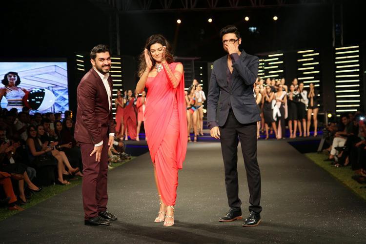 Sushmita Sen Showstopper For Shivan And Narresh Show At BPFT 2014