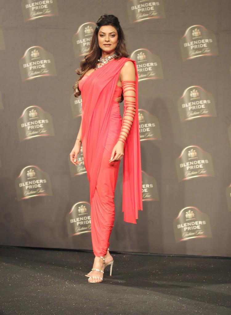 Sushmita Sen Strikes A Pose For Camera On Day 1 BPFT 2014