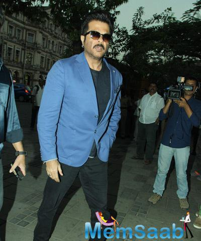 Anil Kapoor Arrived The Camel Colour Painting Exhibition 2014