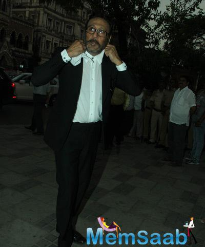 Jackie Shroff Attend The Camel Colour Painting Exhibition 2014
