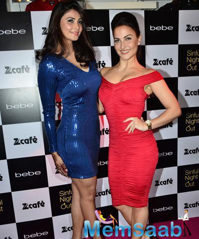 Hotties Daisy Shah And Elli Avram Launched A Store Of The Popular Brand Bebe