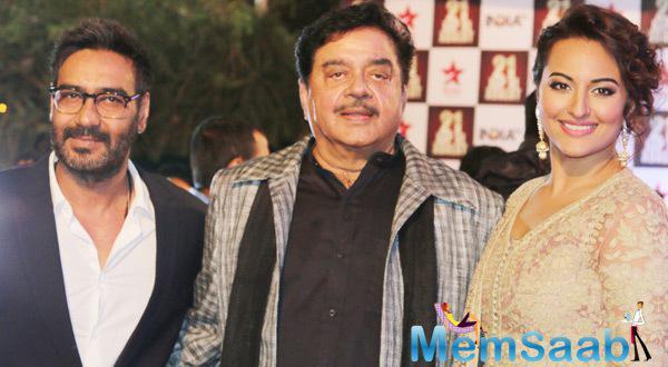 Sonakshi,Ajay And Shatrughan Aap Ki Adalat's 21st Anniversary Episode