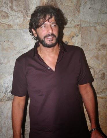 Chunky Pandey Posing For Shutterbug At Lightbox