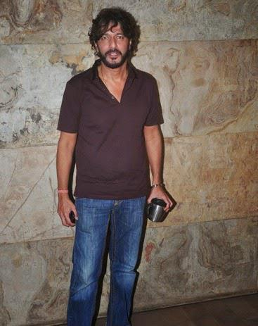 Chunky Pandey Seen At Light Box