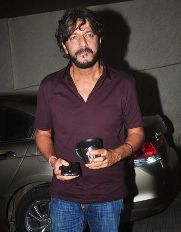 Chunky Pandey Snapped At Lightbox In Mumbai