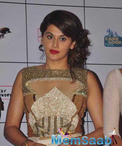 Taapsee Pannu Is The Female Lead In Movie Baby