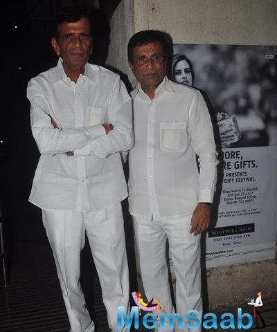 Abbas And Mustan Burmawalla Spotted At Action Jackson Movie Screening