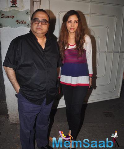 Bollywood Celebs At Action Jackson Movie Screening
