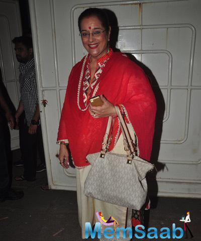 Sonakshi's Mom Poonam Sinha Also Seen At Screening Of Action Jackson