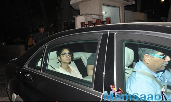 Kiran Rao Spotted At Ranbir Kapoor House