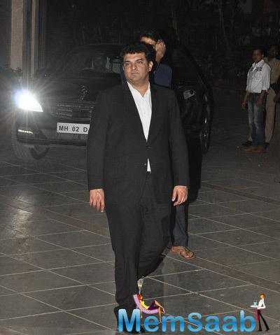 Siddharth Roy Kapur Arrived At Ranbir Kapoor House