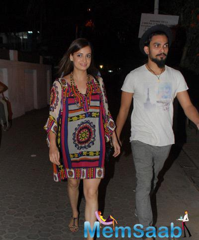 Dia Mirza At Ali Fazal Play The Guy Thing