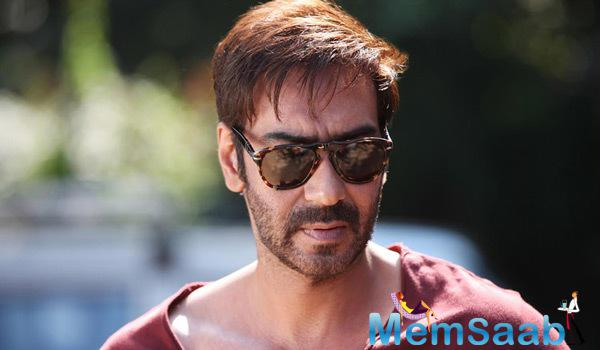 Ajay Devgan Dashing Look From Action Jackson Movie