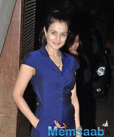 Ameesha Patel Attend Manish Malhotra's Birthday Bash