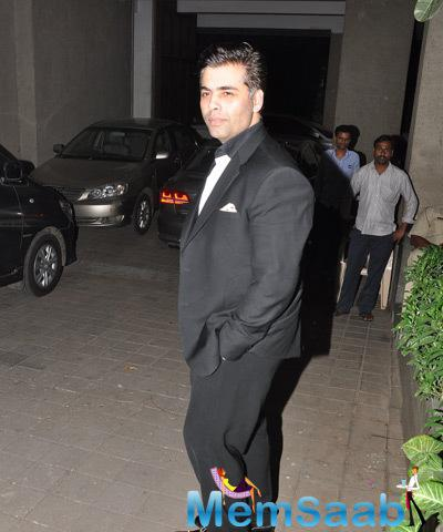 Bollywood Hot Director Karan Spotted To Attend Manish's Birthday Bash