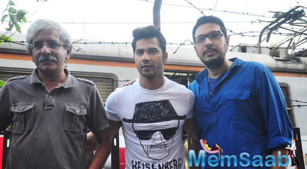 Varun Badlapur Film Promotion At Getty Cinema
