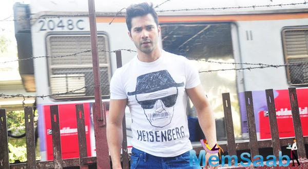 Varun Dhawan Spotted At Getty Cinema For His Upcoming Movie Promotion