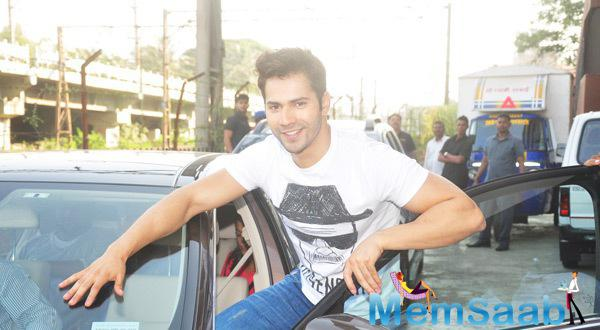 Varun Shows Off His Badlapur Yell