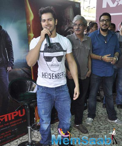 Varun Dhawan Speaks About His Movie