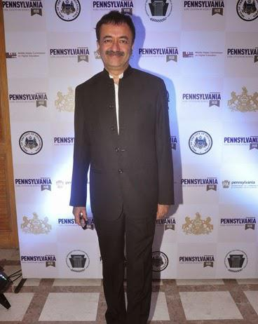 Rajkumar Hirani Clicked At PK's Pennsylvania Meet