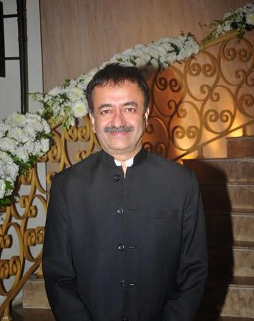 Rajkumar Hirani Strikes A Smiling Pose During PK's Pennsylvania Meet