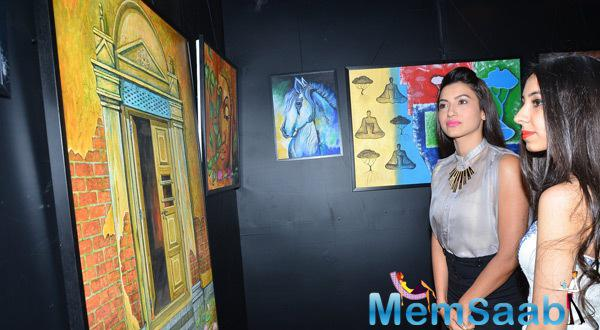 Gauhar Supported Charity Art Auction And Fund Raiser For Medical Camps