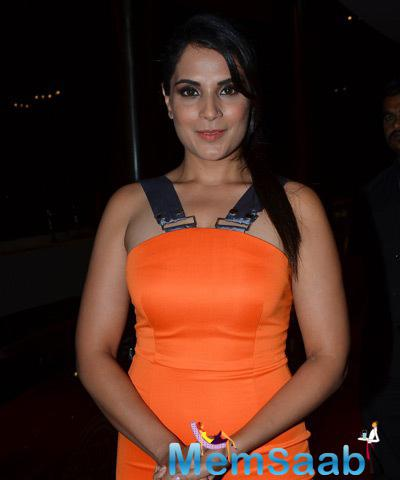 Richa Chadha Spotted At Samvedna Nikhar Tandon Foundation