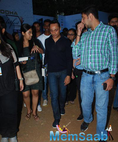 Rahul Bose Arrived At Times Lit Festival 2014