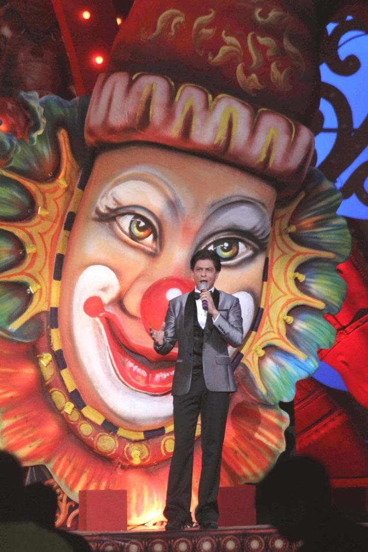 Bollywood King Khan Spoke Few Words At Got Talent World Stage Live Show
