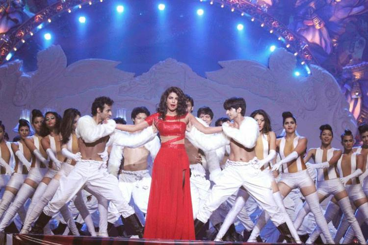 Priyanka Chopra Performs On The Stage At Got Talent World Stage Live Show