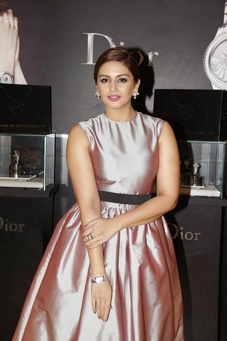 Huma Qureshi Attend The Watches Of Switzerland Launch Event