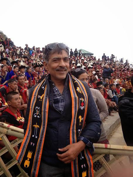 Filmmaker Prakash Jha Graced The 3rd Day Cultural Programme Of Hornbill Festival