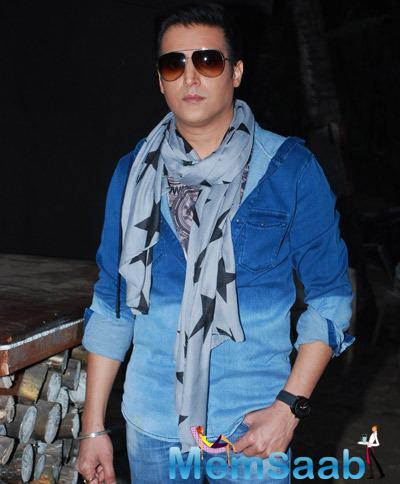 Jimmy Shergill Dashing Handsome Look On The Sets Of  Gun Pe Done Movie