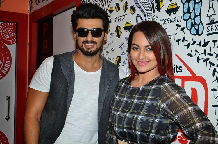 Arjun And Sonakshi Get Busy With Tevar Promotions