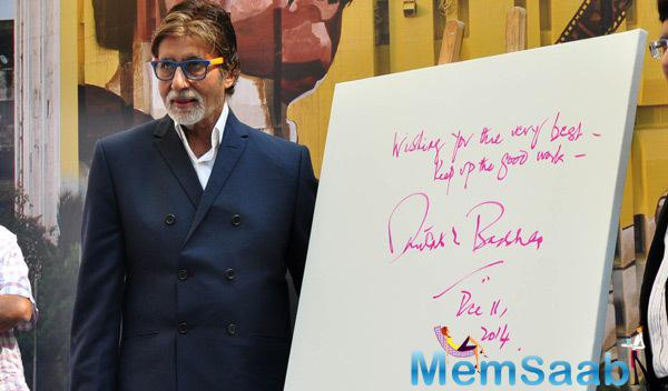 Amitabh Bachchan Paid Tribute To The Father Of Indian Cinemas