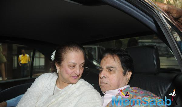Dilip Kumar Celebrating 92nd Birthday With Wife Saira Banu,Family And Friends