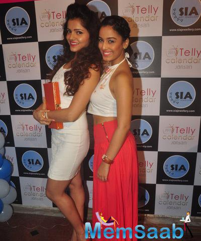 Rubina Dilak Strikes A Pose At Telly Calendar 2015 Girls Announcement