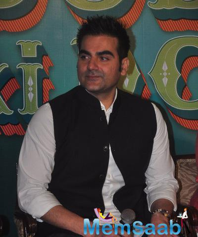 Arbaaz Khan Cool Look During The Trailer Launch Of Dolly Ki Doli