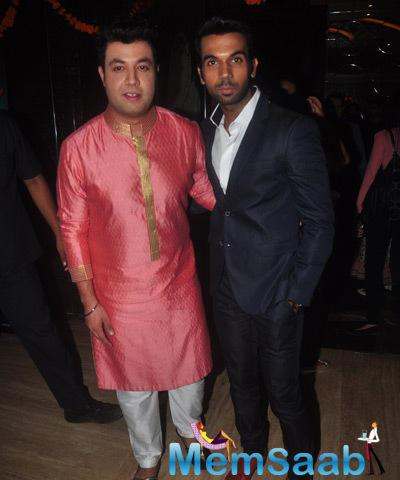 Varun Sharma And Rajkummar Rao Posed For Camera During The Trailer Launch Of Dolly Ki Doli