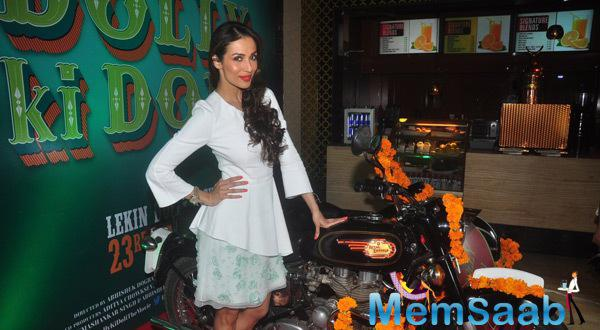 Malaika Looked Pretty In Her Look At The DKD Trailer Launch
