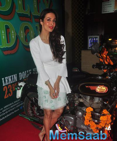 Sizzling Item Malaika At The DKD Trailer Launch Shutterbugs