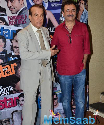 Nari Hira And Rajkumar Hirani Strike A Pose For Shutterbug