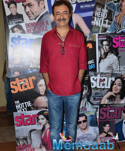 Rajkumar Hirani Posed During The Cover Launch Of Star Week Magazine