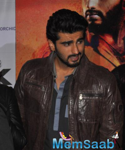 Arjun Kapoor Snapped To Launch His Upcoming Movie Tevar